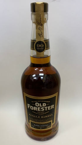 Bottles Unlimited Single Barrel Old Forrester